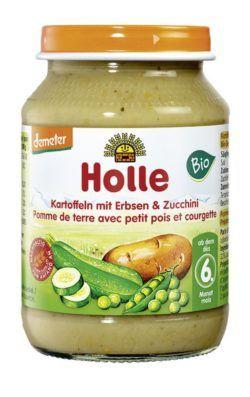 Holle Kartoffeln mit Erbsen & Zucchini 6x190g