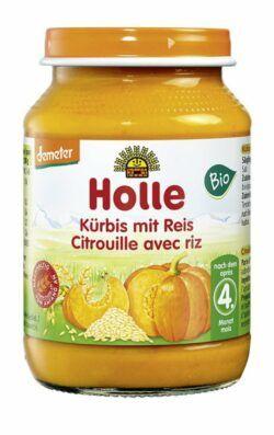 Holle Kürbis mit Reis 6x190g