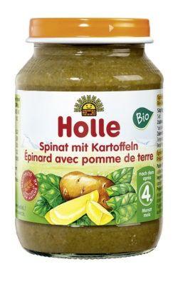 Holle Spinat mit Kartoffeln 6x190g