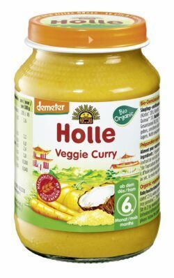 Holle Veggie Curry 6 x 190g
