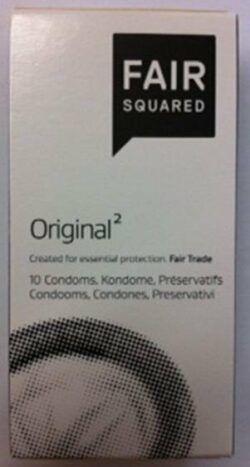 Holzinger Cosmetic Fair Squared Kondom Original 6x10Stck