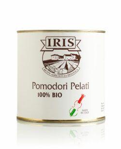 IRIS  Ganze geaschaelte Tomaten 2,5 Kg. in Dose aus italienische oekologischem Anbau. 2500g