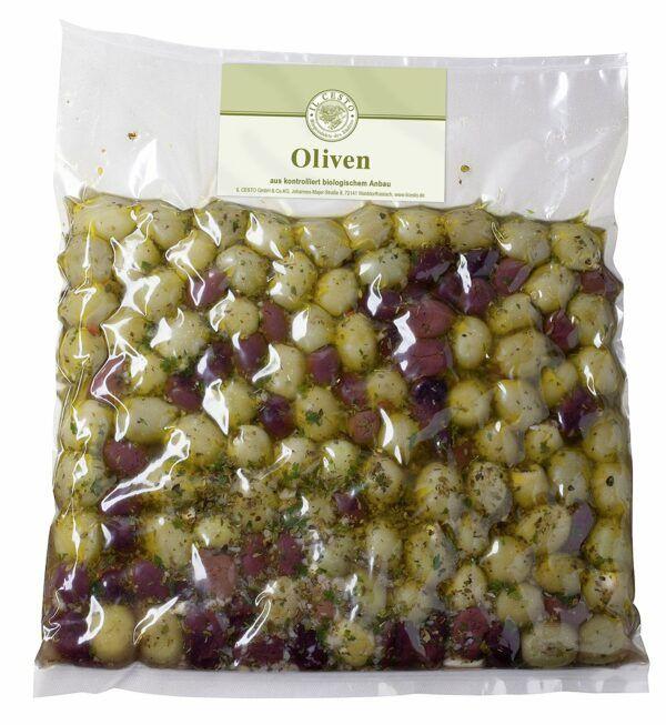 Il Cesto Gef. Oliven-Mix mariniert 1,15kg