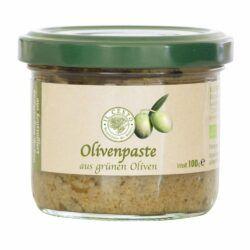 Il Cesto Olivenpaste aus grünen Oliven 100g