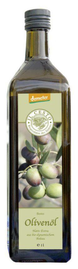 Il Cesto demeter Olivenöl nativ extra 6x1l