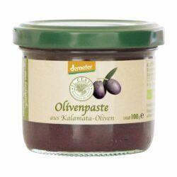 Il Cesto demeter Olivenpaste schwarz aus Kalamata-Oliven 6x100g