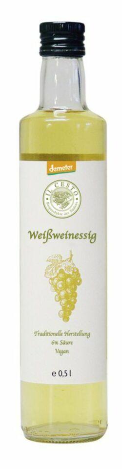 Il Cesto demeter Weißweinessig 6x0,5l