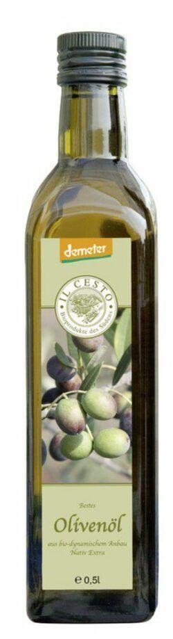 Il Cesto demeter Olivenöl nativ extra 0,5l