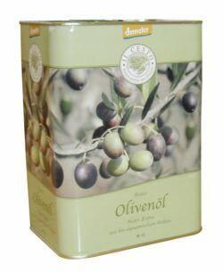 Il Cesto demeter-Olivenöl nativ extra 3l