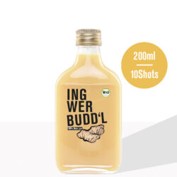 Ingwer Budd'l , Natur pur - 6x200ml