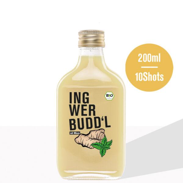 Ingwer Budd'l , mit Minze - 6x200ml