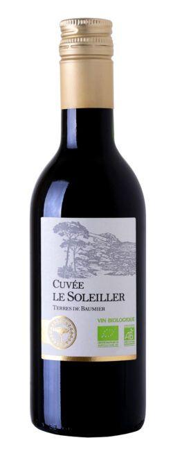 Jacques Frelin Vignobles SAS La Maison des Terroirs Vivants Rotwein, Cuvée le Soleiller 25cl, Vin de France , Frankreich 0,25l