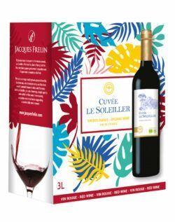 Jacques Frelin Vignobles SAS La Maison des Terroirs Vivants BIB 3L Cuvée Le SOLEILLER Rot 3l