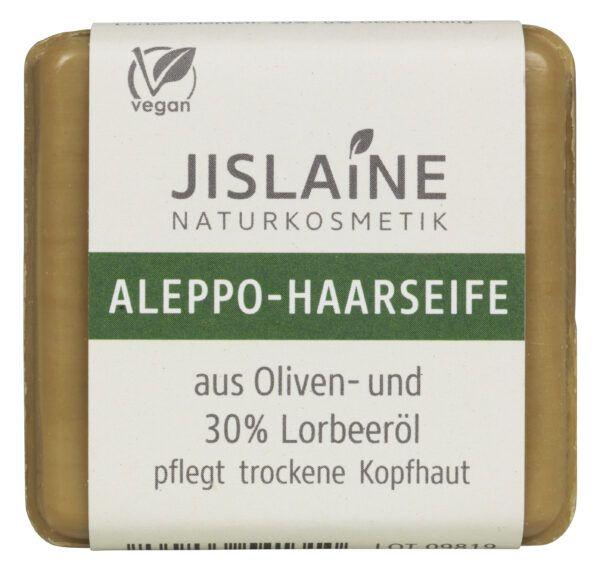 Jislaine Naturkosmetik Aleppo-Haarseife 30% Lorbeeröl 100g