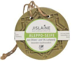 Jislaine Naturkosmetik Aleppo-Seife zum Aufhängen 150g