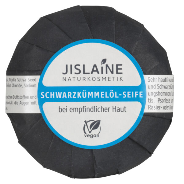 Jislaine Naturkosmetik Schwarzkümmelöl-Seife 100g