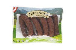 Juffinger Bio-Metzgerei BIO-Chiliwurzen Rohwurst geräuchert 10Stück