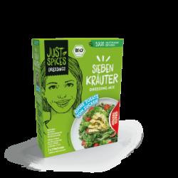 Just Spices BIO 7 Kräuter Dressing Mix - Salat Fix - 3er Pack 10x24g