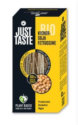 Just Taste Bio Kicher-Soja Fettuccine 6x250g