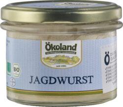 ÖKOLAND Jagdwurst Gourmet-Qualität 6x160g