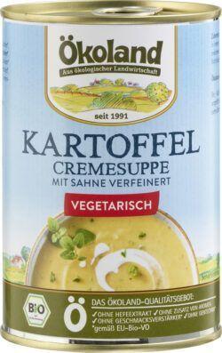 ÖKOLAND Kartoffel-Cremesuppe vegetarisch 6x400g