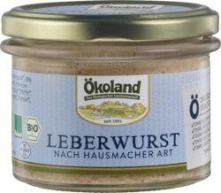 ÖKOLAND Leberwurst nach Hausmacher Art Gourmet-Qualität 160g