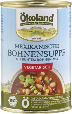 ÖKOLAND Mexikanische Bohnensuppe vegetarisch 6x400g
