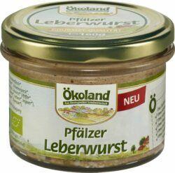 ÖKOLAND Pfälzer Leberwurst Gourmet-Qualität 6x160g