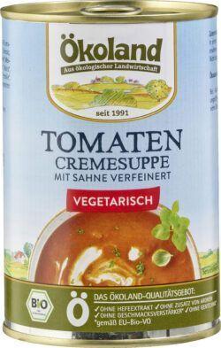 ÖKOLAND Tomaten-Cremesuppe vegetarisch 6x400g