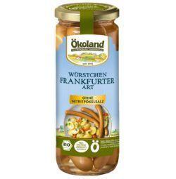 ÖKOLAND Würstchen Frankfurter Art in Delikatess Qualität 540g