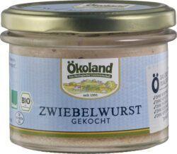 ÖKOLAND Zwiebelwurst gekocht Gourmet-Qualität 160g