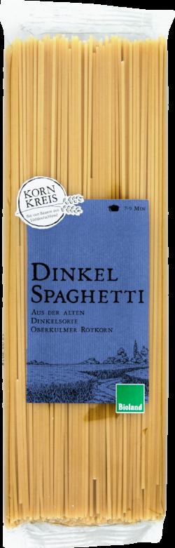 KORNKREIS Bioland Dinkel-Spaghetti 10x500g