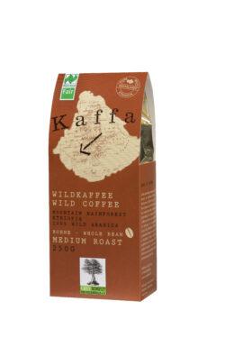 Kaffa Wildkaffee , Medium Roast, ganze Bohne, 250g, bio- und Naturland Fair-zertifiziert 250g