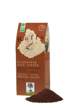 Kaffa Wildkaffee , Medium Roast, gemahlen, 250g, bio- und Naturland Fair-zertifiziert 250g