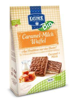 Kastner Bio-Caramel-Milch Waffel 12x175g
