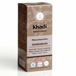 khadi Naturprodukte khadi Pflanzenhaarfarbe Dunkelbraun 100g