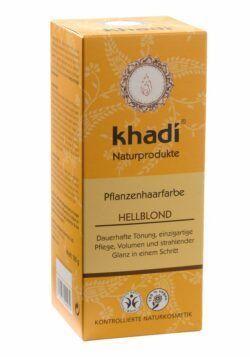 khadi Naturprodukte khadi Pflanzenhaarfarbe Hellblond 100g