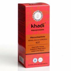 khadi Naturprodukte khadi Pflanzenhaarfarbe Henna, Amla & Jatropha 100g
