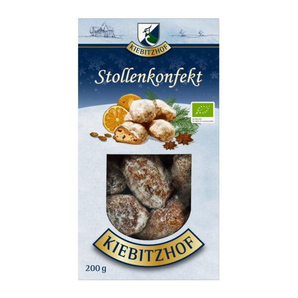 Kiebitzhof Bio Dinkel Stollenkonfekt 6x200g