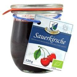 Kiebitzhof Bio Fruchtaufstrich Sauerkirsche 6x220g