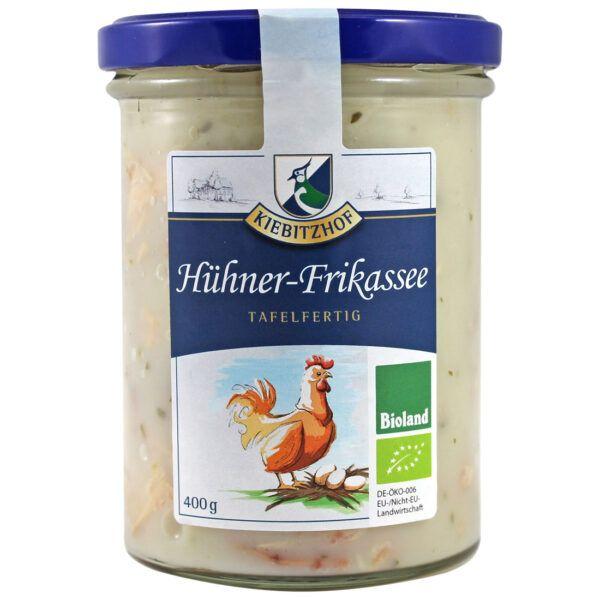 Kiebitzhof Hühnerfrikassee 400g