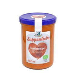 Kiebitzhof Bio Paprika-Suppe mit Süßkartoffel 6x380ml