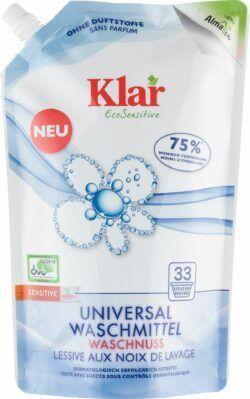 Klar Universal Waschmittel Waschnuss 6x1,5l