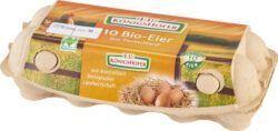 Königshofer Bruderhahn-Eier, 10 Stück, aus Deutschland 21x10Stück
