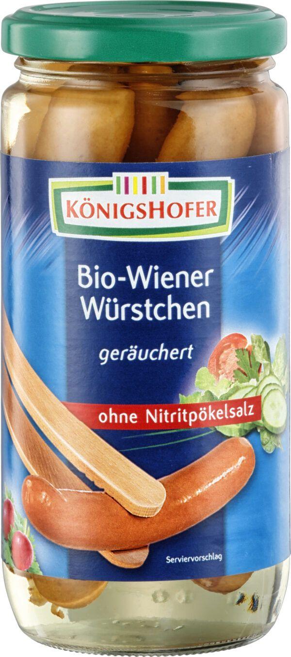 Königshofer Wiener Würstchen geräuchert, ohne Zusatz von Nitritpökelsalz 6x400g
