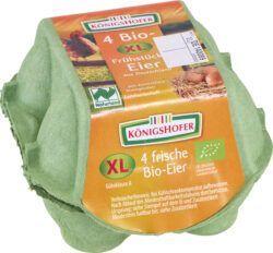 Königshofer XL Bruderhahn-Frühstückseier, 4 Stück, aus Deutschland 12x4Stück