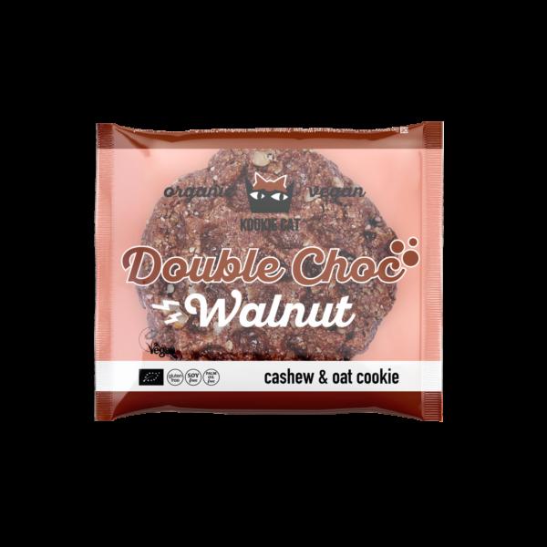 KookieCat Double Chocolate Walnut, 50g, glutenfrei 12x50g