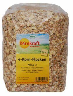 Kornkraft 4-Korn-Flocken 8x750g