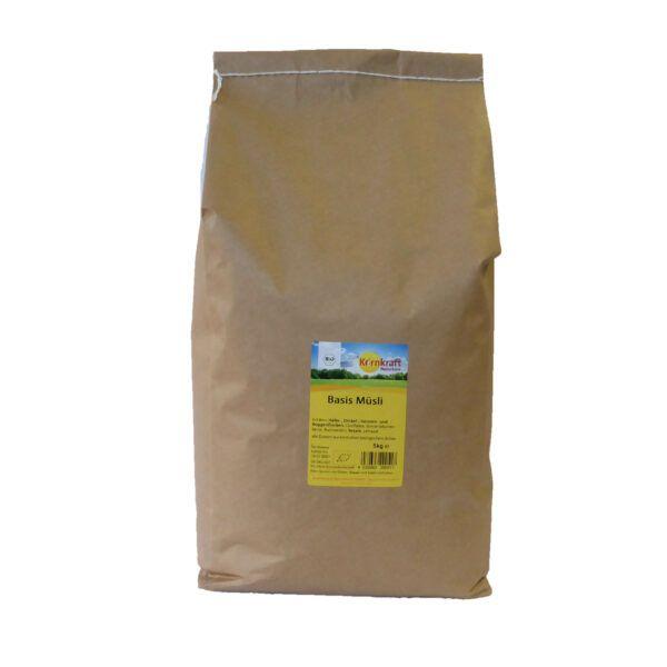 Kornkraft Basis Müsli Großpackung 5 kg in Papiertüte 5kg