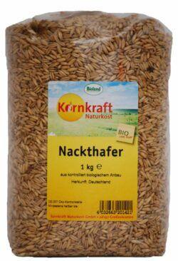 Kornkraft Hafer (Nackthafer) 8x1kg